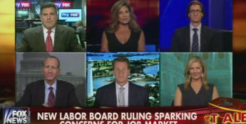 Fox Panel Attacks NLRB Ruling That Holds Corporations Like McDonalds Responsible For Franchisees