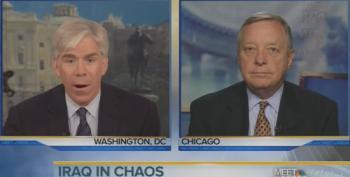 Dick Durbin Tells David Gregory 'Only Iraq Can Save Iraq'