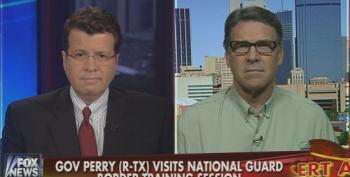 Rick Perry Goes After Harry Reid For Calling His Photo-Op At The Border A 'Political Stunt'