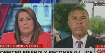 Candy Crowley Asks Rep. Clay If He's 'Usurping' Brown Investigation By Calling It Murder