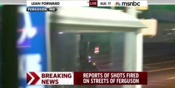 Police Threaten To Use Mace Against Media In Ferguson