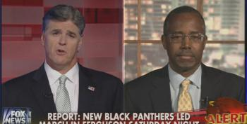 Fox's Hannity And Carson Use Unrest In Ferguson To Concern Troll Over 'Black On Black' Crime In Other Cities