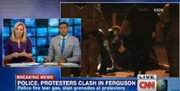 CNN Anchor Suggests Water Cannon Use In Ferguson