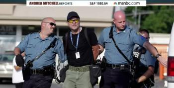 Getty Photojournalist Scott Olsen Arrested In Ferguson For 'Refusing To Obey'