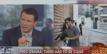 Fox's Pete Hegseth Attacks President Obama For Not Wearing A Tie During Foley Presser