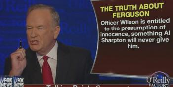 O'Reilly Goes Off The Rails Ranting About Al Sharpton In Ferguson