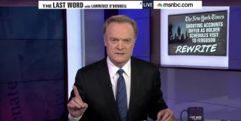 Lawrence O'Donnell Rips New York Times' Lazy Crime Report
