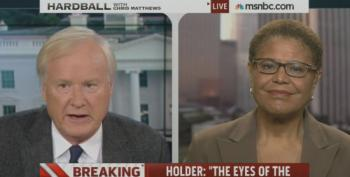 Rep. Karen Bass Reminds Chris Matthews That The CBC Has Been Concerned About  Unemployment For A Long Time Now
