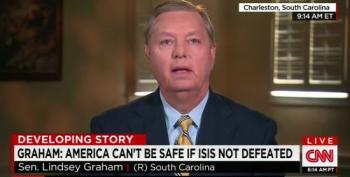 Lindsey Graham: ISIL Is Going To Attack Us So We Need To Start Another War