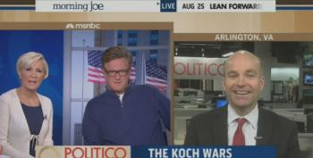 Morning Joe Crew Mock Democrats For Going After Koch Brothers In Their Ads