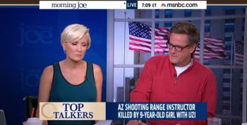 Scarborough: 'Who Would Put An Uzi In The Hands Of A Nine Year Old Girl?'