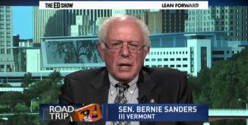 Sanders Discusses Potential 2016 Presidential Campaign