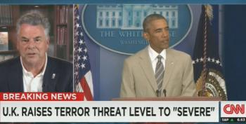 Peter King Attacks Obama For Wearing Tan Suit During Press Briefing