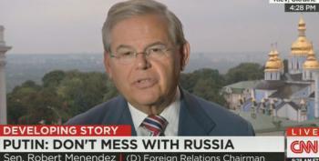 Sen. Robert Menendez Calls For Arming Ukraine