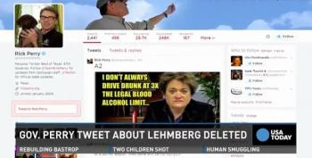 Rick Perry's Twitter 'Mishap'