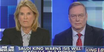 Fox's Van Susteren Helps Saudi King Terrorize Americans With Warnings Of Attack By ISIS