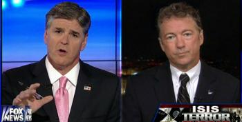 Rand Paul Helps Hannity Fearmonger Over Threat From ISIS