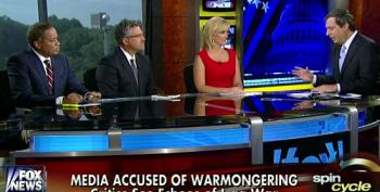 Howard Kurtz Asks Fox Pundits Whether The Media Is Pushing Us Into War