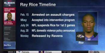 Ray Rice Released By Baltimore Ravens