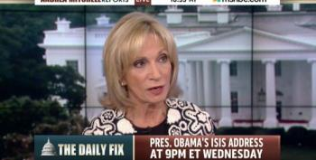 Andrea Mitchell Opines That Obama 'Undercut His Strength In The Persian Gulf' By Consulting Congress On Bombing Syria