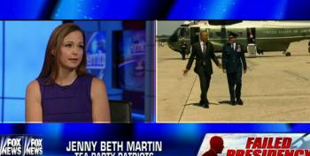 Hannity Helps Tea Party Patriots' Martin Promote Their Fundraising Petition