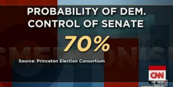 Media Grapples With Dueling Narratives Of Who Will Control The Senate