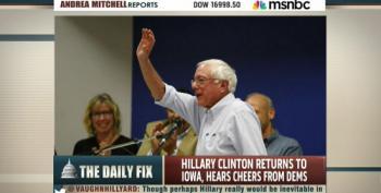 MSNBC Pundits Write Bernie Sanders Off As 'Not Credible'