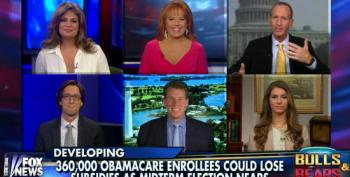 Fox Conveniently Forgets Who Threw Snafus Into ACA Verification Process