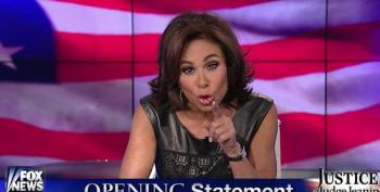 Fox Wingnut 'Judge' Jeanine Calls ISIS The 'Single Biggest Threat' In American History