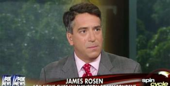 Fox News' James Rosen Bashes Rachel Maddow For Questioning The Military
