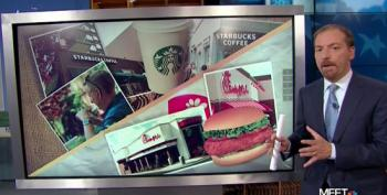 Chuck Todd Splits U.S. Into 'Starbucks Nation' And 'Chick-Fil-A Country'