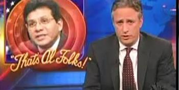 Jon Stewart Says Goodbye To Alberto Gonzales