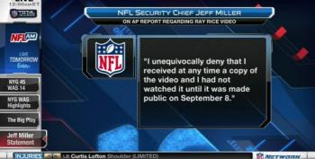 Law Enforcement Official Confirms Ray Rice Video Sent To NFL Security Chief