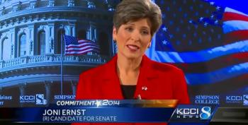 Joni Ernst Lies About Personhood Amendment She Supported