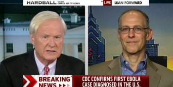 Chris Matthews Goes Off The Rails Fearmongering Over Ebola