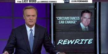Lawrence O'Donnell On Romney Being The 2016 Presidential Frontrunner