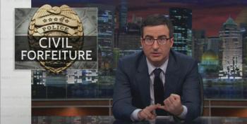 John Oliver Skewers Law Enforcement For Civil Forfeiture Abuse