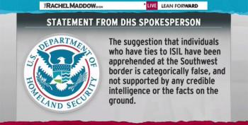 Rachel Maddow Debunks Duncan Hunter's Claim That ISIS Fighters Were Apprehended At Southern Border