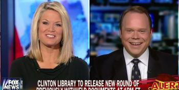 Fox Pundits Very Excited About Release Of New Round Of Clinton Records