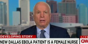 McCain Calls For 'Ebola Czar'