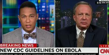 CNN Brings On Michael 'Heckuva Job Brownie' Brown To Discuss Ebola Response