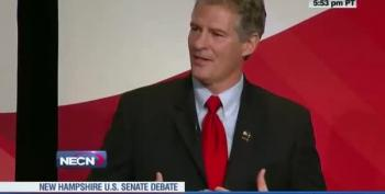 Scott Brown Cracks Up The Audience During NH Debate