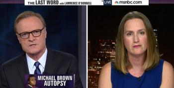 Lawrence O'Donnell Takes Post-Dispatch To Task For Reporting On Brown Autopsy