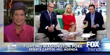 Joni Ernst Dodges Iowa Press, Retreats To Fox News Instead