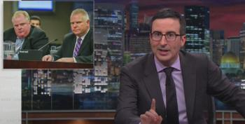 John Oliver Begs Toronto To Elect Mayor Rob Ford's Brother Doug