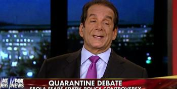 Krauthammer On Ebola Quarantines: 'At Least Give Them Guantanamo Conditions'