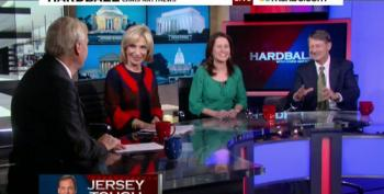 'Hardball' Panel Yucks It Up After Watching Chris Christie's Bullying