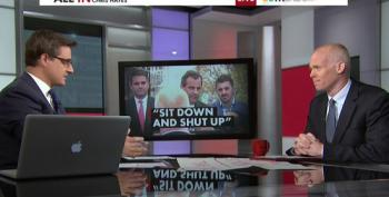 Chris Hayes Speaks To Man Told To Shut Up By Chris Christie, James Keady