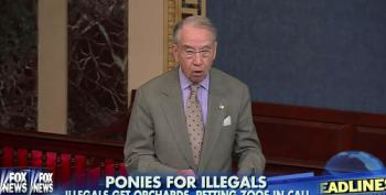 Grassley: Taxes Fund Petting Farm, Guitar Lessons For Illegal Immigrants
