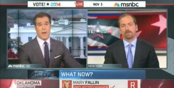 Chuck Todd Gushes Over The Discipline Of The Republican Party